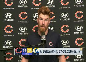 Andy Dalton, Justin Fields recap Week 1 'SNF' loss vs. Rams