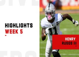 Henry Ruggs III's biggest plays vs. Chiefs | Week 5