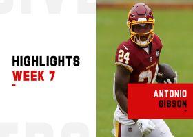 Antonio Gibson's best plays from 128-yard game | Week 7