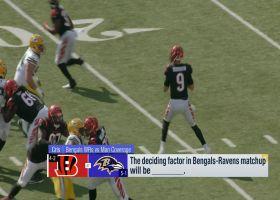 Deciding factors in Bengals-Ravens Week 7 matchup   'GMFB'