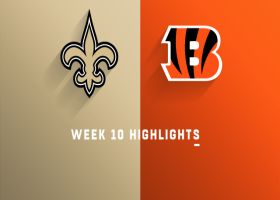 Saints vs. Bengals highlights | Week 10