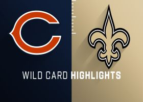 Bears vs. Saints highlights | Super Wild Card Weekend