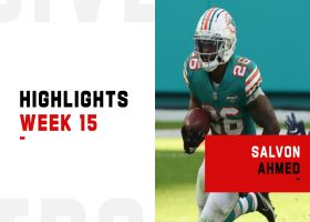 Salvon Ahmed's best plays from 127-yard, 1-TD game | Week 15