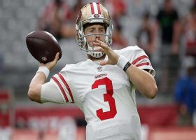 MJ Acosta: San Francisco 49ers quarterback C.J. Beathard questionable for Thursday night's game