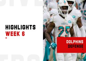 Dolphins' best defensive plays from 24-0 win | Week 6