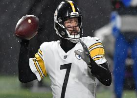 Big Ben throws a strike to James Washington for first points of 'SNF'