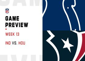 Colts vs. Texans preview | Week 13