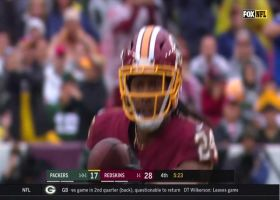 Fabian Moreau strips ball from Randall Cobb for key turnover