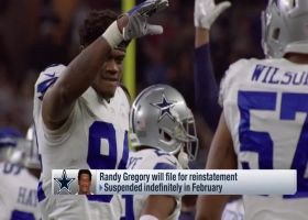 Dallas Cowboys' defensive end Randy Gregory will file for reinstatement