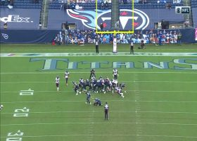 Texans DENY Titans points on key field-goal block