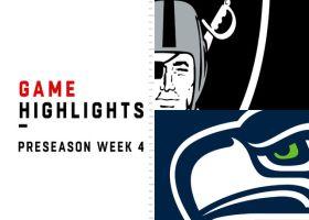 Raiders vs. Seahawks highlights | Preseason Week 4