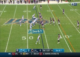 Jeff Driskel delivers strike to Marvin Jones for 12-yard gain
