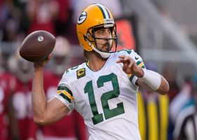 Rodgers masterfully maneuvers pocket on third-down dart to Adams