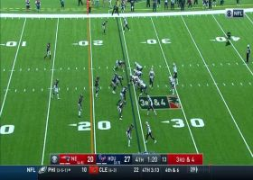 J.J. Watt makes a crucial swat to force fourth-down