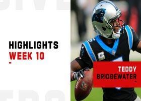Teddy Bridgewater's best throws from 2-TD game | Week 10