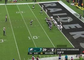 Raiders dial up tunnel-screen TD to Bryan Edwards on fourth down