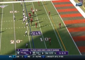 Can't-Miss Play: LaMARVELOUS Jackson lays up absurd TD off one leg