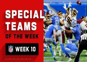 Top special teams plays of the week | Week 10