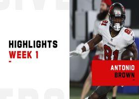 Antonio Brown's best plays from 121-yard night   Week 1