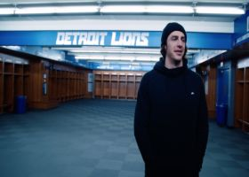 Detroit Lions tight end Luke Willson fulfills childhood dream
