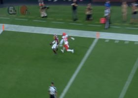 Case Keenum finds Robert Davis all alone for 46-yard TD