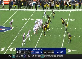 Devin Singletary slices through Steelers defense for 25-yard burst