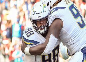 Rochell, Rochell! Chargers DE comes up with INT at perfect time