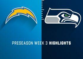 Chargers vs. Seahawks highlights | Preseason Week 3