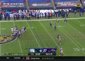 Darius Slayton shows ridiculous reflexes on 11-yard grab