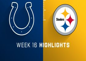 Colts vs. Steelers highlights | Week 16