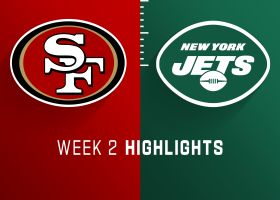 49ers vs. Jets highlights | Week 2