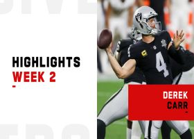 Derek Carr's most critical throws from 3-TD game | Week 2