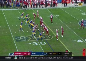 Third-and-Kupp! Goff airs a 24-yard dime to his WR to move the chains