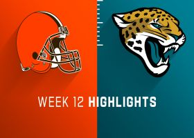Browns vs. Jaguars highlights | Week 12