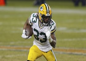 Cynthia Frelund analyzes Aaron Jones' win share with Packers in 2021