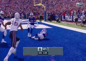 Micah Hyde comes away with critical end-zone INT of Tom Brady