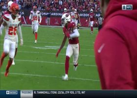 Byrd goes FLYING into Browns secondary for 51-yard catch and run