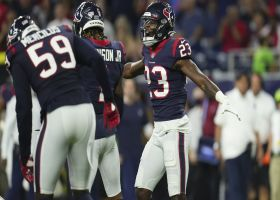 Texans stuff Hubbard on fourth-and-one to force turnover on downs in red zone