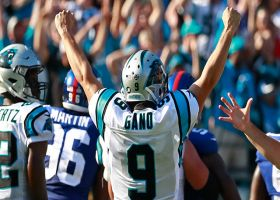 Graham Gano nails 54-yard FG to end first half