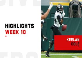 Keelan Cole's best plays from 2-TD game | Week 10