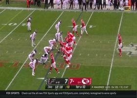 Mecole Hardman ratchets up speed on 20-yard jet sweep