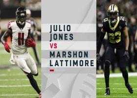 Inside look at Julio Jones-Marshon Lattimore Week 10 matchup