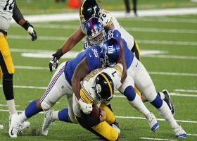 Big Cat vs. Big Ben: Williams powers through for the sack
