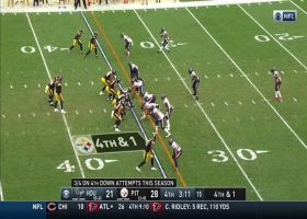 Roethlisberger fires to James Washington for gutsy fourth-down conversion