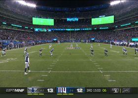 SkyCam: Cody Latimer rips off huge 50-yard return to open second half