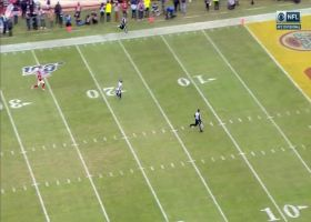 Kenny Stills goes untouched for 54-yard TD after Chiefs bite on fake screen