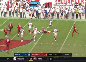 Ryan Connelly intercepts Jameis Winston's pass for clutch turnover