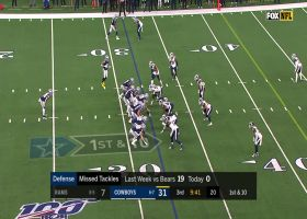 Aaron Donald dominates line of scrimmage for loss of 2 yards