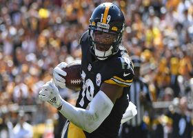 JuJu Smith-Schuster takes quick jet-sweep in for rush TD