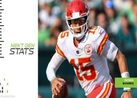 Next Gen Stats: Patrick Mahomes' 3 most improbable completions | Week 4